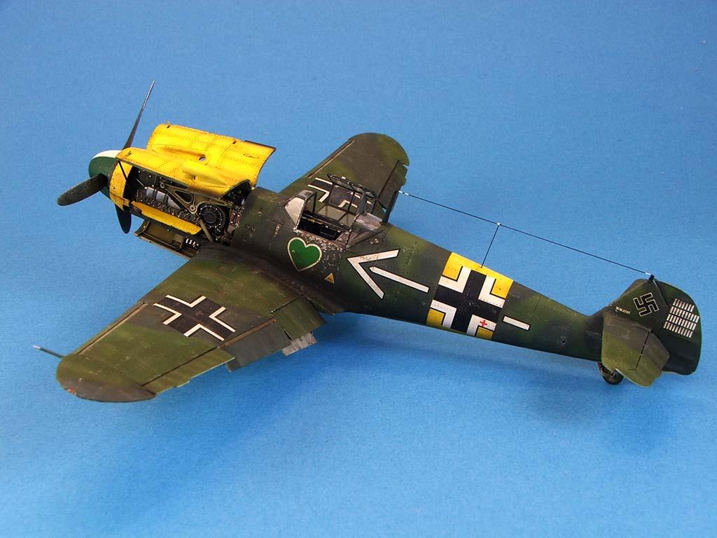 Messerschmitt Bf109 F2  Zvezda 1/48 - Page 2 Bf109f2%20(54)