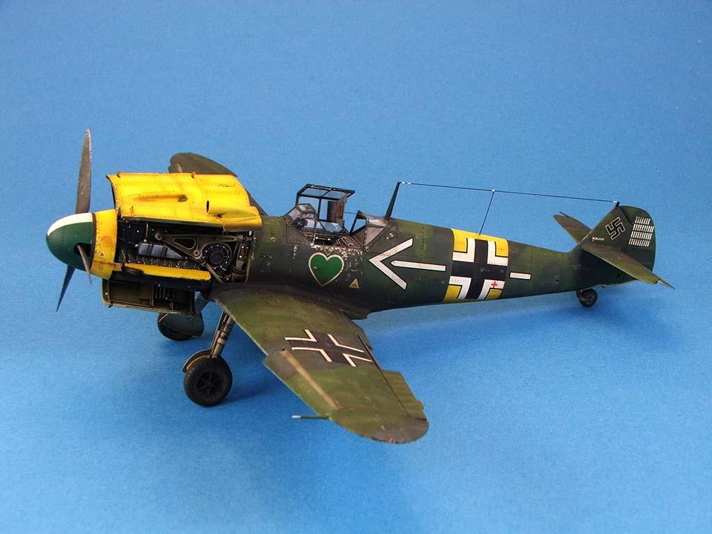 Messerschmitt Bf109 F2  Zvezda 1/48 - Page 2 Bf109f2%20(55)