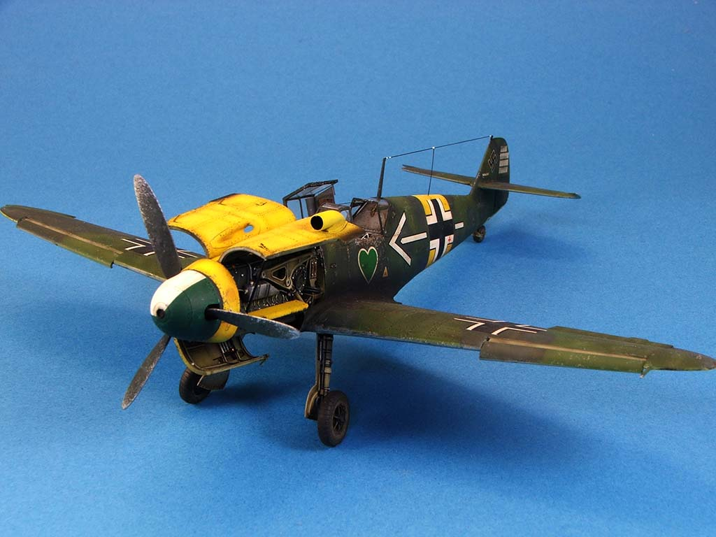 Messerschmitt Bf109 F2  Zvezda 1/48 - Page 2 Bf109f2%20(56)
