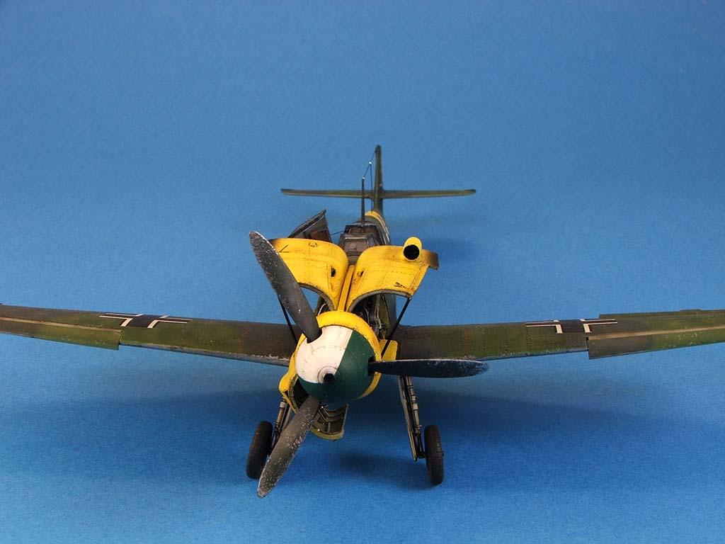 Messerschmitt Bf109 F2  Zvezda 1/48 - Page 2 Bf109f2%20(57)