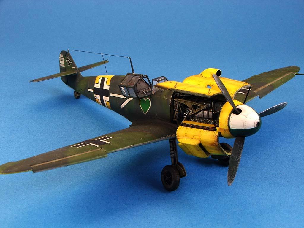 Messerschmitt Bf109 F2  Zvezda 1/48 - Page 2 Bf109f2%20(58)