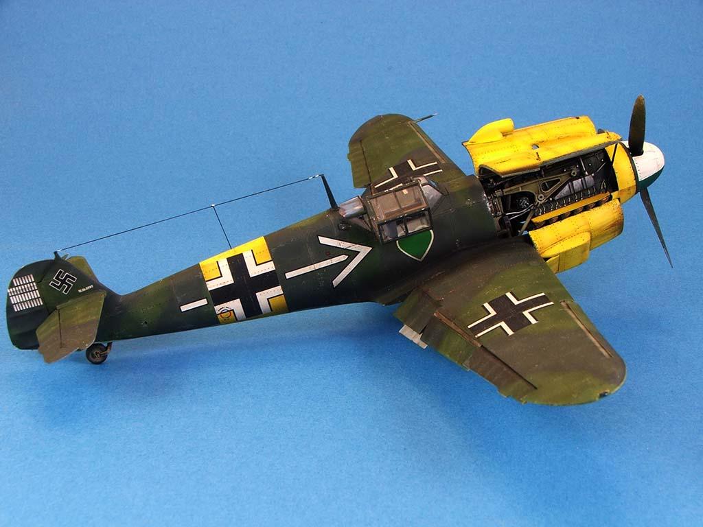 Messerschmitt Bf109 F2  Zvezda 1/48 - Page 2 Bf109f2%20(59)