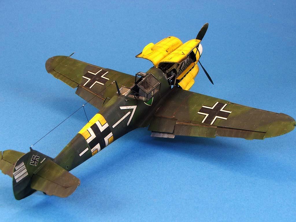 Messerschmitt Bf109 F2  Zvezda 1/48 - Page 2 Bf109f2%20(60)