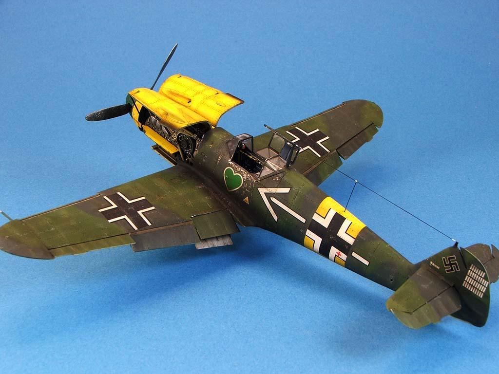 Messerschmitt Bf109 F2  Zvezda 1/48 - Page 2 Bf109f2%20(62)