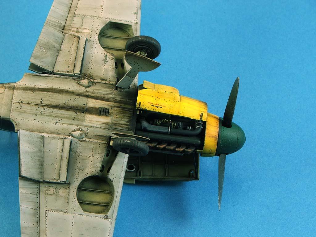 Messerschmitt Bf109 F2  Zvezda 1/48 - Page 2 Bf109f2%20(67)