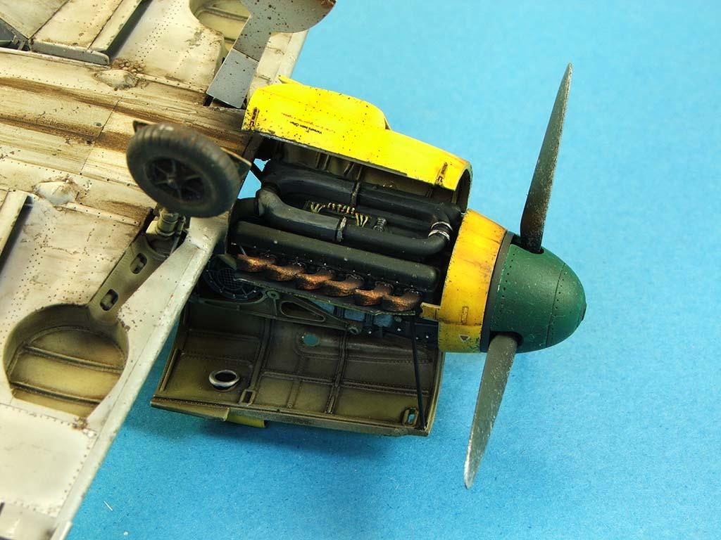 Messerschmitt Bf109 F2  Zvezda 1/48 - Page 2 Bf109f2%20(68)
