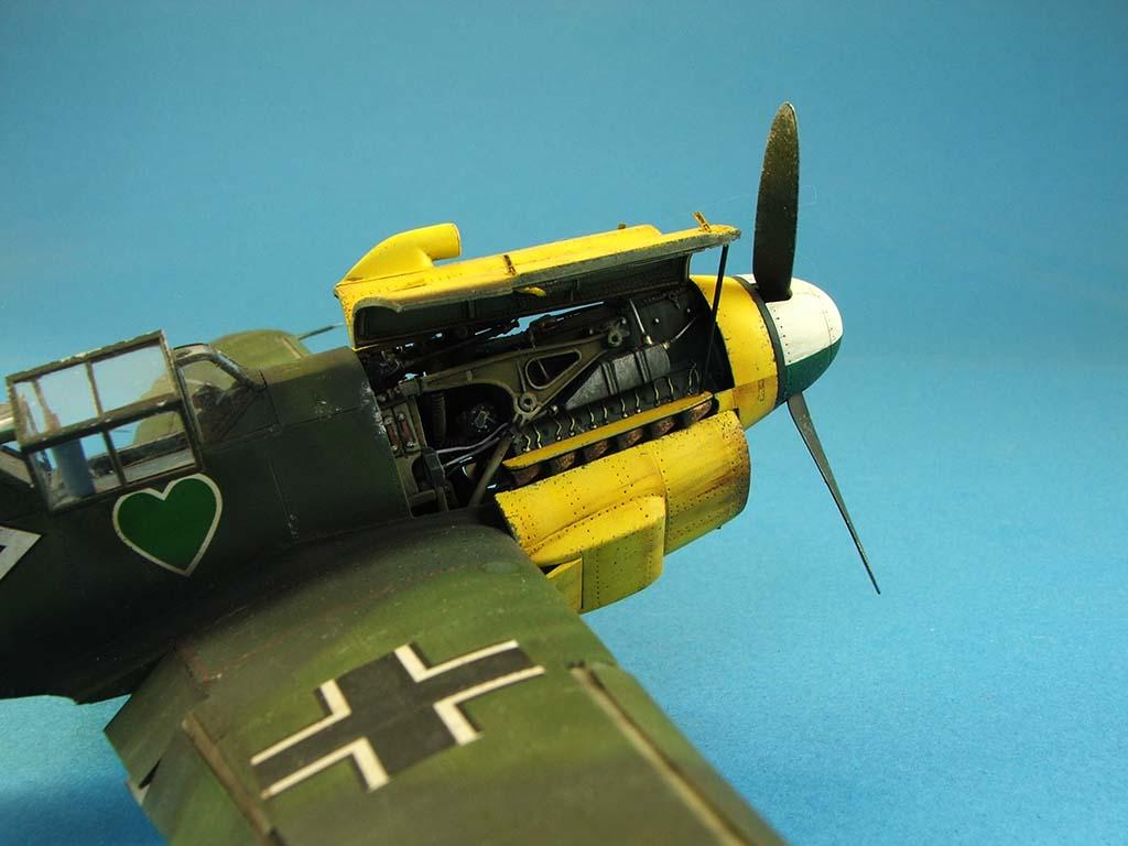 Messerschmitt Bf109 F2  Zvezda 1/48 - Page 2 Bf109f2%20(69)