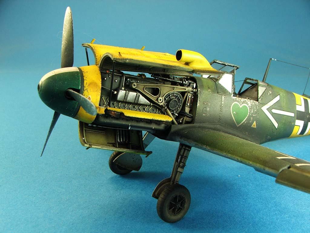 Messerschmitt Bf109 F2  Zvezda 1/48 - Page 2 Bf109f2%20(70)