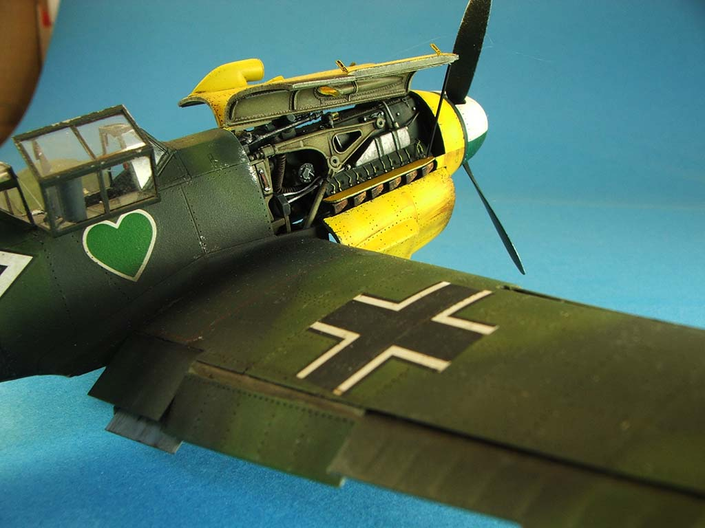Messerschmitt Bf109 F2  Zvezda 1/48 - Page 2 Bf109f2%20(71)