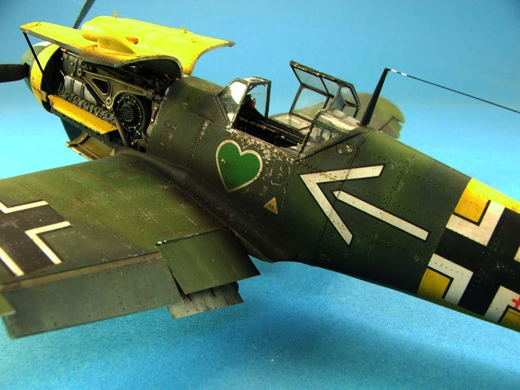 Messerschmitt Bf109 F2  Zvezda 1/48 - Page 2 Bf109f2%20(72)