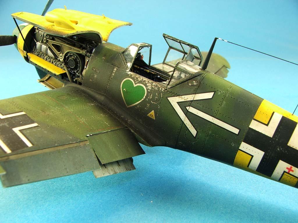 Messerschmitt Bf109 F2  Zvezda 1/48 - Page 2 Bf109f2%20(73)