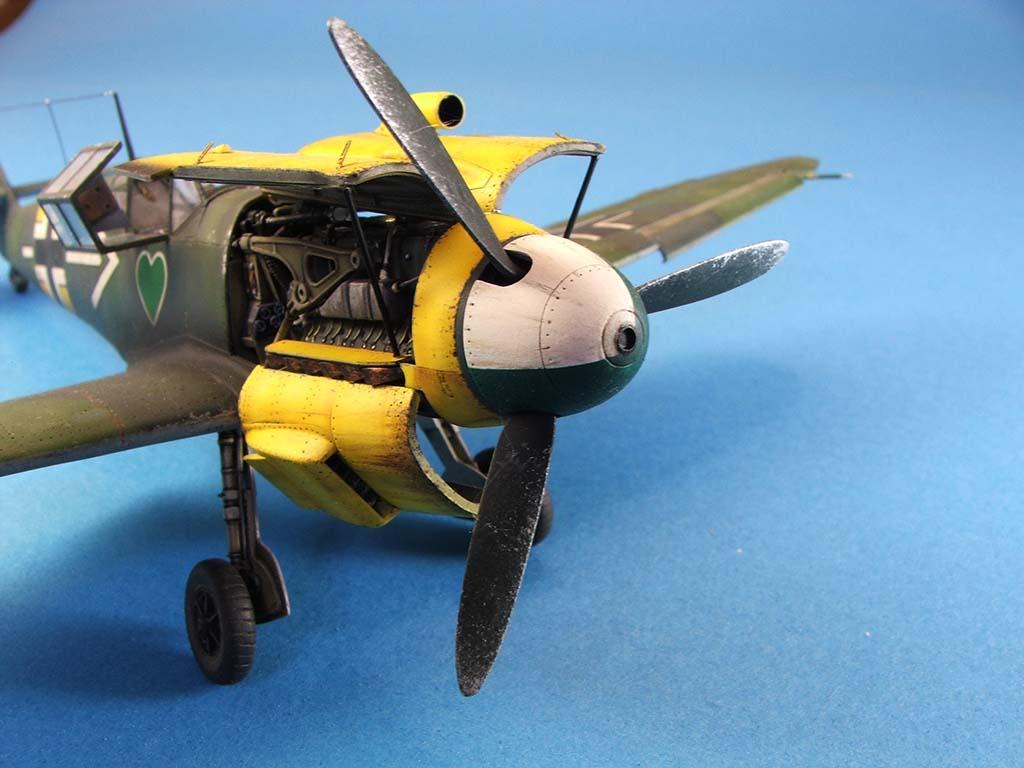 Messerschmitt Bf109 F2  Zvezda 1/48 - Page 2 Bf109f2%20(79)